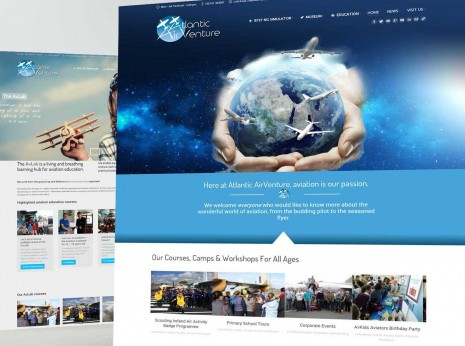 Atlantic Airventure homepage